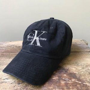 f7cf9869aeb Calvin Klein Accessories - Vintage 90s Calvin Klein Jeans Snapback Hat CK